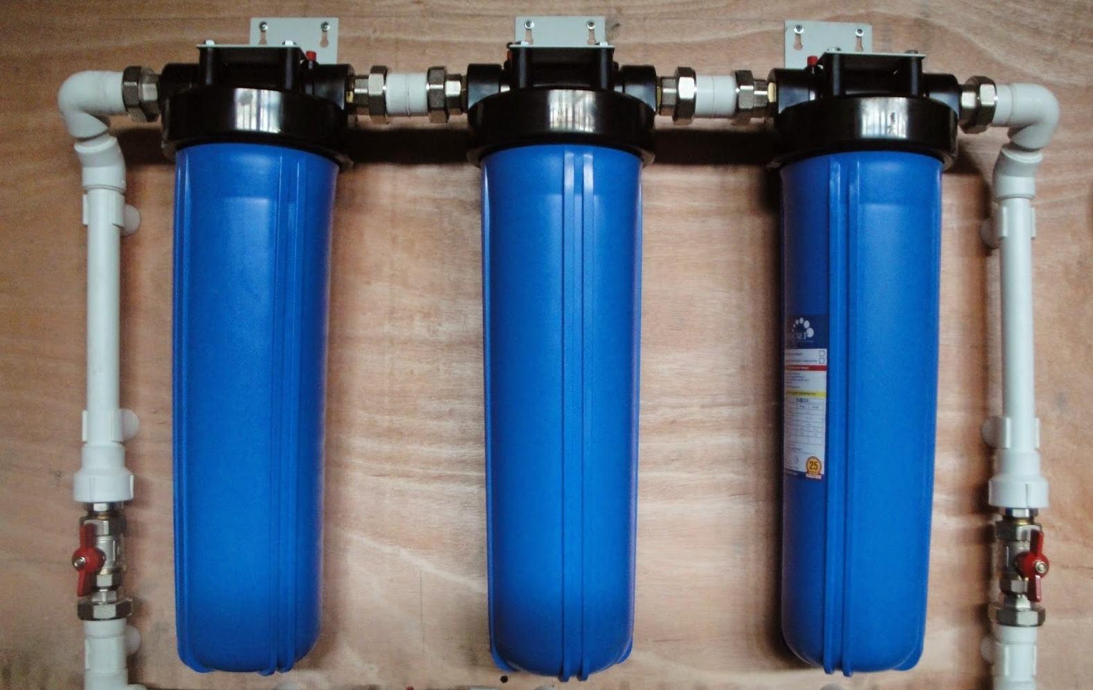 Система фильтрации воды дома своими руками
